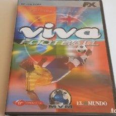 Videojuegos y Consolas: PC / CD-ROM !! VIVA FOOTBALL. EDICIÓN MUNDIALES / MVM / EL MUNDO - PRECINTADO.. Lote 197813682