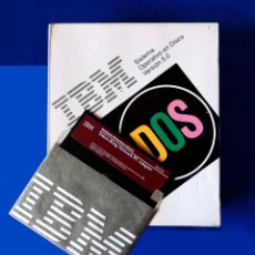 Videojuegos y Consolas: IBM - DOS - SISTEMA OPERATIVO EN DISCO - SOLO CAJA Y ADAPTADOR PC TOKEN-RING - VERSIÓN 1.00. Lote 198163480