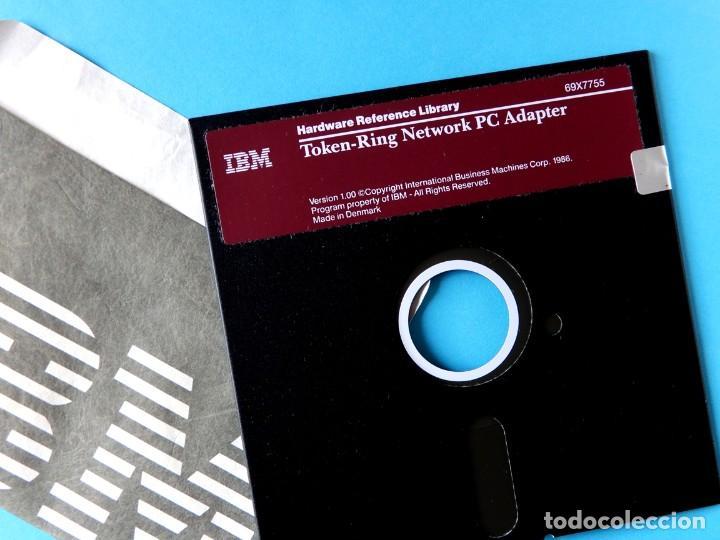 Videojuegos y Consolas: IBM - DOS - SISTEMA OPERATIVO EN DISCO - SOLO CAJA Y ADAPTADOR PC TOKEN-RING - VERSIÓN 1.00 - Foto 5 - 198163480
