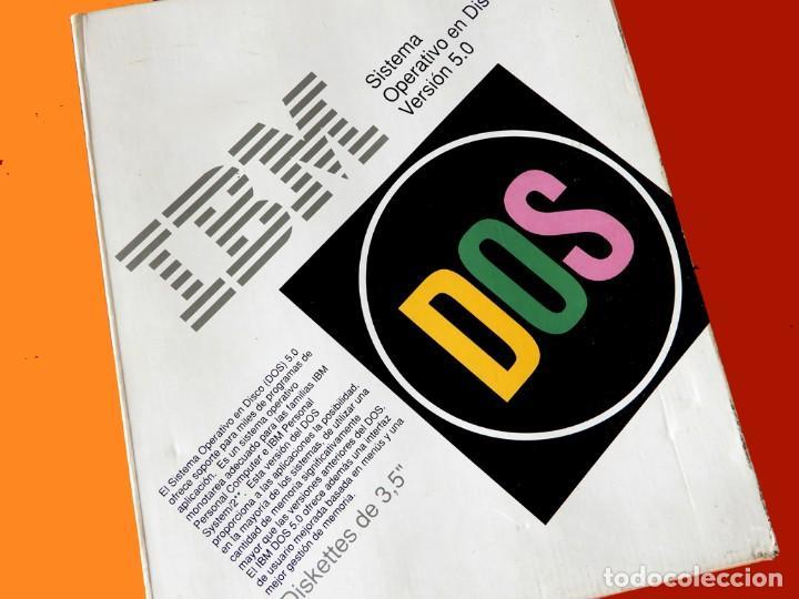 Videojuegos y Consolas: IBM - DOS - SISTEMA OPERATIVO EN DISCO - SOLO CAJA Y ADAPTADOR PC TOKEN-RING - VERSIÓN 1.00 - Foto 4 - 198163480