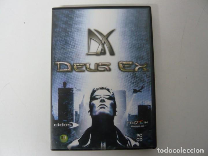 DEUS EX / CAJA DVD / IBM PC / RETRO VINTAGE / CD - DVD (Juguetes - Videojuegos y Consolas - PC)