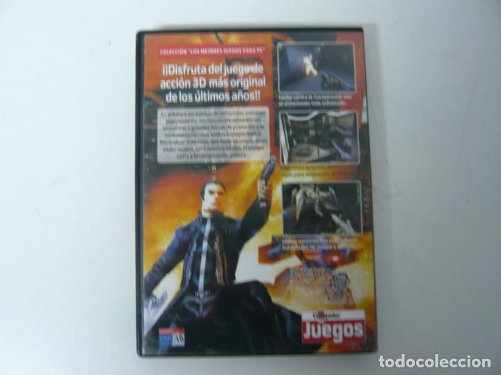 Videojuegos y Consolas: Deus Ex / Caja DVD / IBM PC / Retro Vintage / CD - DVD - Foto 2 - 198292665
