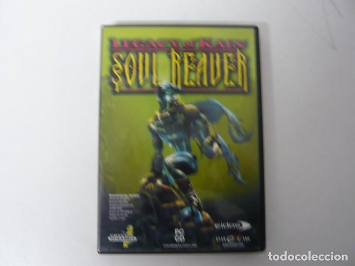 SOUL REAVER - LEGACY OF KAIN / CAJA DVD / IBM PC / RETRO VINTAGE / CD - DVD (Juguetes - Videojuegos y Consolas - PC)