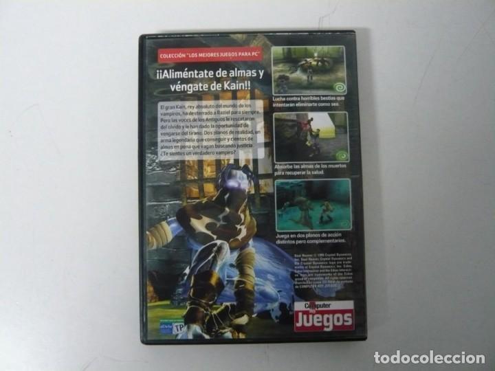 Videojuegos y Consolas: Soul Reaver - Legacy of Kain / Caja DVD / IBM PC / Retro Vintage / CD - DVD - Foto 2 - 198292707