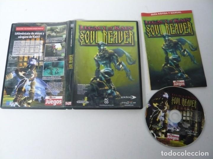 Videojuegos y Consolas: Soul Reaver - Legacy of Kain / Caja DVD / IBM PC / Retro Vintage / CD - DVD - Foto 3 - 198292707