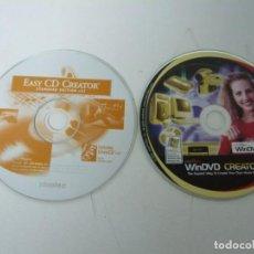 Videogiochi e Consoli: WINDVD CREATOR Y EASYCD CREATOR / SOLO DISCO / IBM PC / RETRO VINTAGE / CD - DVD. Lote 198328821