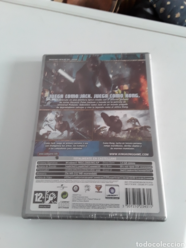 Videojuegos y Consolas: Peter Jacksons King Kong The Official Game Of The Movie PC - Foto 2 - 198408168