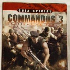 Videojuegos y Consolas: GUIA OFICIAL COMMANDOS 3 DE MICROMANIA CON PÓSTER. Lote 199036902