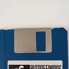 Jeux Vidéo et Consoles: DISQUETE INFORMATICA DISKETTE. JUEGO PC AUTODEFINIDOS- MS2 AÑOS 80. Lote 199114691
