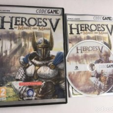 Videojuegos y Consolas: HEROES OF MIGHT AND MAGIC V 5 HOMM PC DVD ROM . Lote 199221362