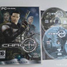 Videojuegos y Consolas: CHROME PC CD ROM TECHLAND KREATEN. Lote 199222698