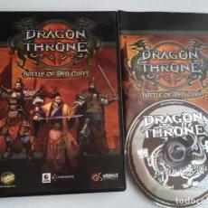 Videojuegos y Consolas: DRAGON THRONE BATTLE OF RED CLIFFS KREATEN PC CD. Lote 199222997