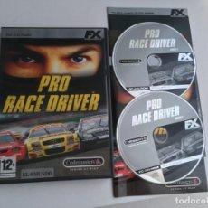 Videojuegos y Consolas: PRO RACE DRIVER PC CD ROM FX KREATEN. Lote 199223696