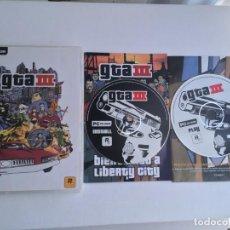 Videojuegos y Consolas: GTA III GRAND THEFT AUTO 3 PC CD ROM ROCKSTAR . Lote 199223878