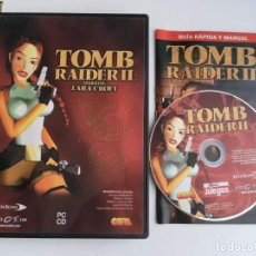 Videojogos e Consolas: TOMB RAIDER II LARA CROFT 2 PC CD KREATEN. Lote 199224181