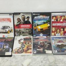 Videojuegos y Consolas: LOTE JUEGOS PC. Lote 199259290