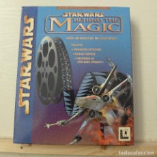 Videojuegos y Consolas: STAR WARS - BEHIND THE MAGIC - GUIA INTERACTIVA DE STAR WARS. Lote 199322150