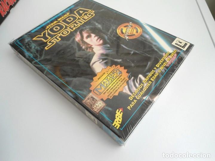 Videojuegos y Consolas: THE YODA STORIES STAR WARS - JUEGO PC COMPLETO - LUCAS ARTS ERBE 1997 - EDICION CD-ROM - Foto 4 - 199530910