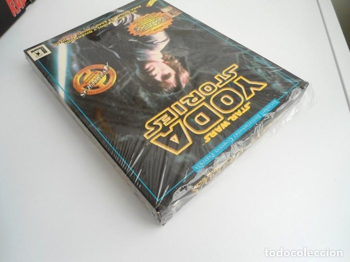 Videojuegos y Consolas: THE YODA STORIES STAR WARS - JUEGO PC COMPLETO - LUCAS ARTS ERBE 1997 - EDICION CD-ROM - Foto 5 - 199530910