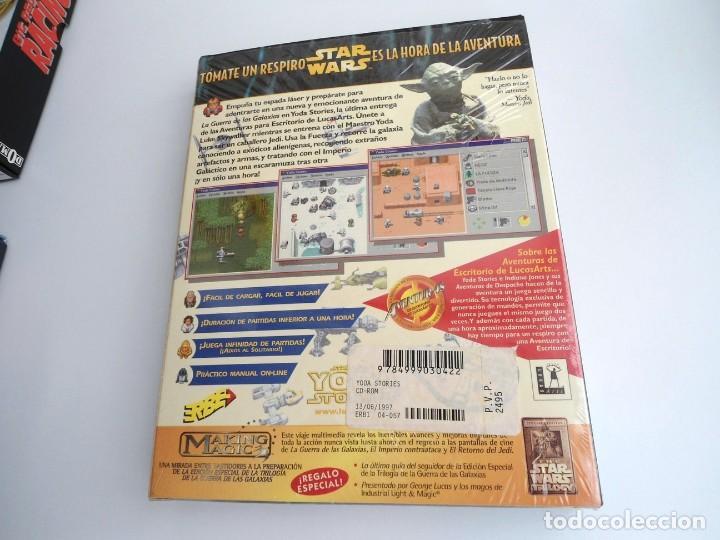 Videojuegos y Consolas: THE YODA STORIES STAR WARS - JUEGO PC COMPLETO - LUCAS ARTS ERBE 1997 - EDICION CD-ROM - Foto 6 - 199530910