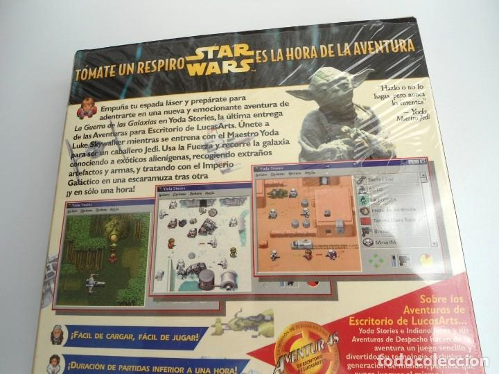 Videojuegos y Consolas: THE YODA STORIES STAR WARS - JUEGO PC COMPLETO - LUCAS ARTS ERBE 1997 - EDICION CD-ROM - Foto 7 - 199530910