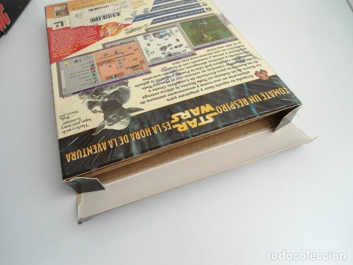 Videojuegos y Consolas: THE YODA STORIES STAR WARS - JUEGO PC COMPLETO - LUCAS ARTS ERBE 1997 - EDICION CD-ROM - Foto 8 - 199530910