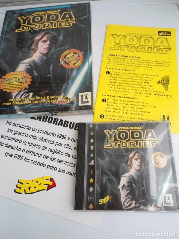 THE YODA STORIES STAR WARS - JUEGO PC COMPLETO - LUCAS ARTS ERBE 1997 - EDICION CD-ROM (Juguetes - Videojuegos y Consolas - PC)