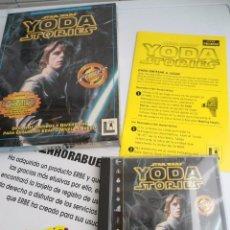 Videojuegos y Consolas: THE YODA STORIES STAR WARS - JUEGO PC COMPLETO - LUCAS ARTS ERBE 1997 - EDICION CD-ROM. Lote 199530910