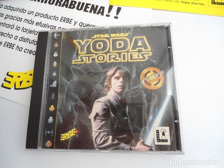 Videojuegos y Consolas: THE YODA STORIES STAR WARS - JUEGO PC COMPLETO - LUCAS ARTS ERBE 1997 - EDICION CD-ROM - Foto 9 - 199530910