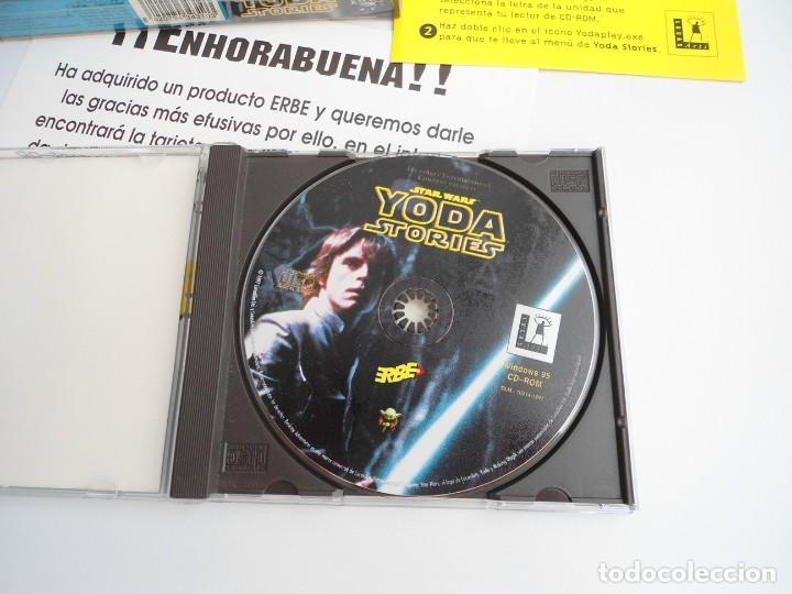 Videojuegos y Consolas: THE YODA STORIES STAR WARS - JUEGO PC COMPLETO - LUCAS ARTS ERBE 1997 - EDICION CD-ROM - Foto 10 - 199530910