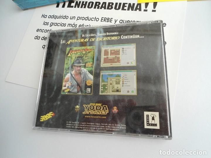 Videojuegos y Consolas: THE YODA STORIES STAR WARS - JUEGO PC COMPLETO - LUCAS ARTS ERBE 1997 - EDICION CD-ROM - Foto 11 - 199530910