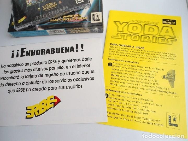 Videojuegos y Consolas: THE YODA STORIES STAR WARS - JUEGO PC COMPLETO - LUCAS ARTS ERBE 1997 - EDICION CD-ROM - Foto 12 - 199530910
