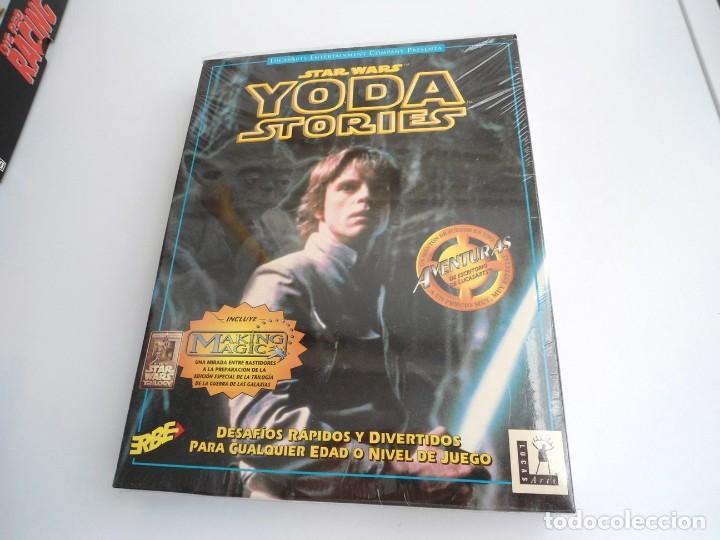 Videojuegos y Consolas: THE YODA STORIES STAR WARS - JUEGO PC COMPLETO - LUCAS ARTS ERBE 1997 - EDICION CD-ROM - Foto 3 - 199530910