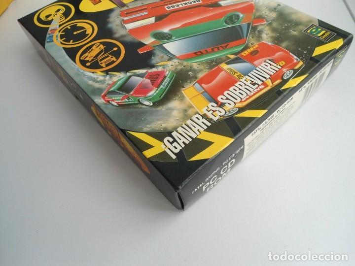 Videojuegos y Consolas: FATAL RACING - JUEGO PC COMPLETO CON PUBLICIDAD - GREMLIN 1995 - EDICION CD-ROM - Foto 4 - 199531161