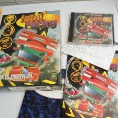Videojuegos y Consolas: FATAL RACING - JUEGO PC COMPLETO CON PUBLICIDAD - GREMLIN 1995 - EDICION CD-ROM. Lote 199531161