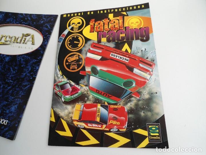 Videojuegos y Consolas: FATAL RACING - JUEGO PC COMPLETO CON PUBLICIDAD - GREMLIN 1995 - EDICION CD-ROM - Foto 11 - 199531161