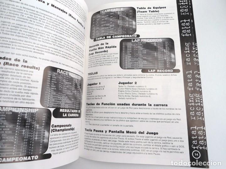 Videojuegos y Consolas: FATAL RACING - JUEGO PC COMPLETO CON PUBLICIDAD - GREMLIN 1995 - EDICION CD-ROM - Foto 13 - 199531161