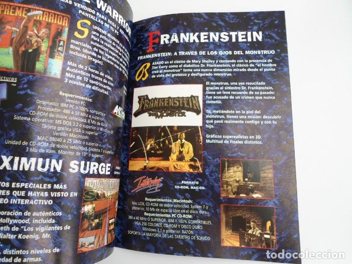Videojuegos y Consolas: FATAL RACING - JUEGO PC COMPLETO CON PUBLICIDAD - GREMLIN 1995 - EDICION CD-ROM - Foto 18 - 199531161