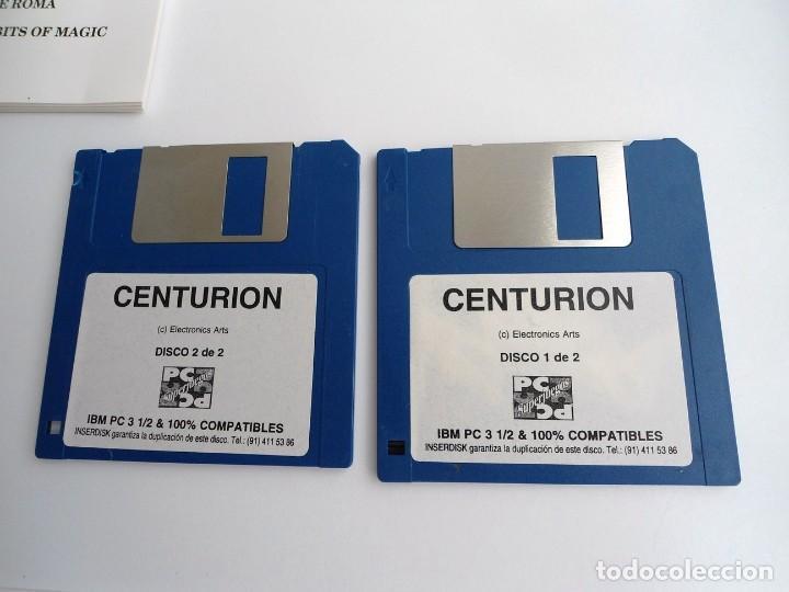 Videojuegos y Consolas: CENTURION DEFENDER OF ROME - JUEGO PC IBM COMPLETO CON MAPA - ELECTRONIC ARTS 1990 ED. DISCOS 3.5´´ - Foto 4 - 199531768