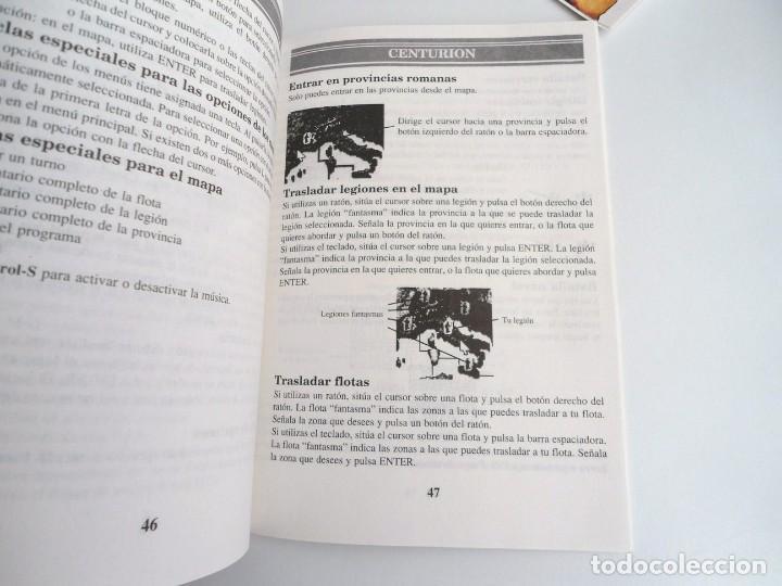 Videojuegos y Consolas: CENTURION DEFENDER OF ROME - JUEGO PC IBM COMPLETO CON MAPA - ELECTRONIC ARTS 1990 ED. DISCOS 3.5´´ - Foto 7 - 199531768
