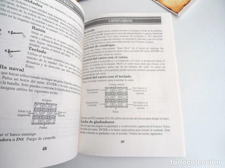 Videojuegos y Consolas: CENTURION DEFENDER OF ROME - JUEGO PC IBM COMPLETO CON MAPA - ELECTRONIC ARTS 1990 ED. DISCOS 3.5´´ - Foto 8 - 199531768