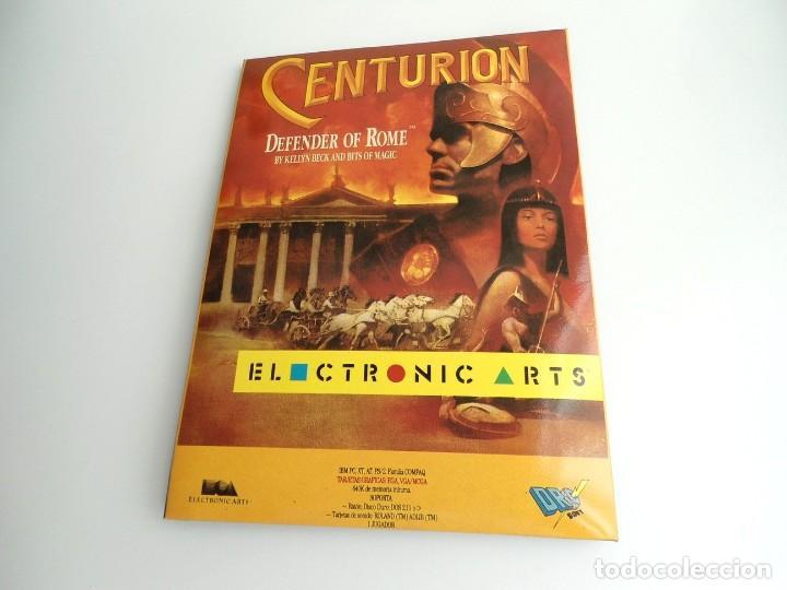 Videojuegos y Consolas: CENTURION DEFENDER OF ROME - JUEGO PC IBM COMPLETO CON MAPA - ELECTRONIC ARTS 1990 ED. DISCOS 3.5´´ - Foto 2 - 199531768
