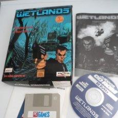 Videojuegos y Consolas: WETLANDS - JUEGO PC COMPLETO - PROEIN - EDICION PC CD-ROM. Lote 199679353