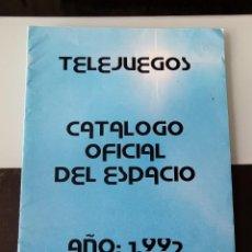 Videojuegos y Consolas: REVISTA CATÁLOGO GAMES CONSOLAS 1992 MSX AMSTRAD SPECTRUM COMMODORE TELEJUEGOS + CUPÓN PETICIÓN. Lote 199686105