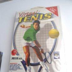 Videojuegos y Consolas: VIRTUAL TENIS - JUEGO PC COMPLETO - DDM ABETO AÑOS 90 - EDICION PC-CD ROM - NUEVO PRECINTADO - RARO. Lote 199772252