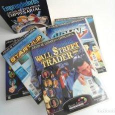 Videojuegos y Consolas: EMPRENDEDORES - 6 JUEGOS DE ESTRATEGIA EMPRESARIAL PC - COLECCION COMPLETA - PRECINTADA - RARA ASI. Lote 199783250