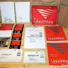 Videojuegos y Consolas: SISTEMA OPERATIVO UNIXWARE - UNIX - UNIVEL - ADOBE - COMPLETO Y EN SU CAJA ORIGINAL. Lote 200508737