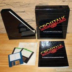 Videojuegos y Consolas: CROSSTALK XVI PARA PC - EN SU CAJA ORIGINAL - SOFTWARE PARA COMUNICACIONES DE PC. Lote 200509978