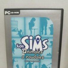 Videojuegos y Consolas: LOS SIMS ANIMALES A RAUDALES CON INSTRUCCIONES . Lote 200557983