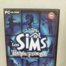 Videojuegos y Consolas: LOS SIMS MAGIA POTAGIA CON INSTRUCCIONES. Lote 200558082